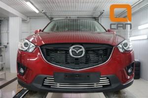 Решетка переднего бампера Mazda CX5 (2012-) d 16 2