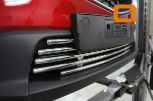 Решетка переднего бампера Mazda CX5 (2012-) d 16 3